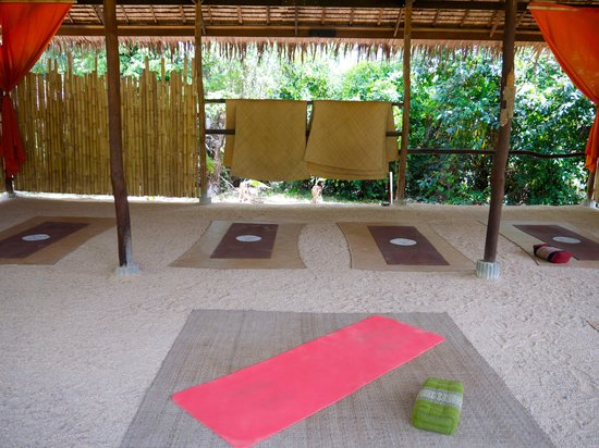 Grounded Koh Tao's Wellbeing Centre: inside