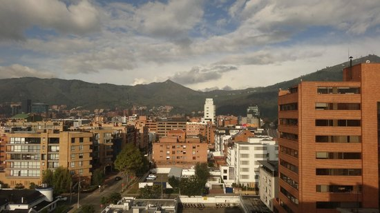 Bogota Plaza Summit Hotel: view from room on 10th floor