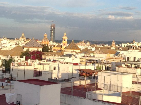 Catalonia Giralda Hotel : Вид на старый город