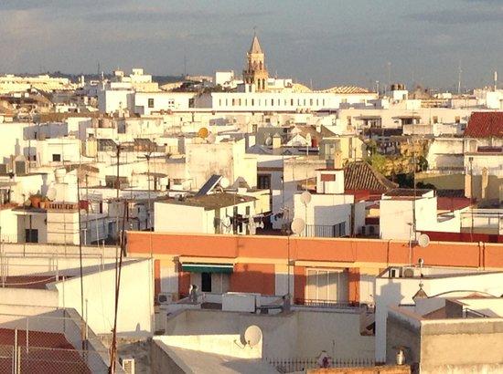 Catalonia Giralda Hotel : Вид из окна