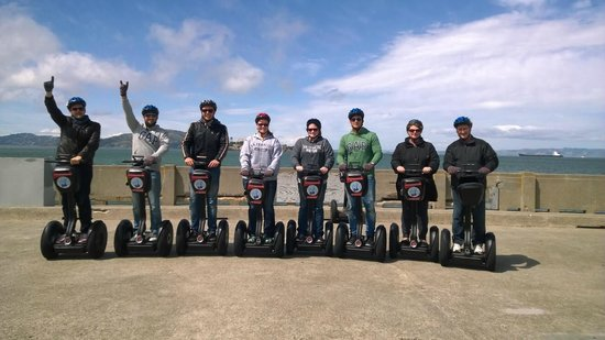 City Segway Tours San Francisco : Great Group!!