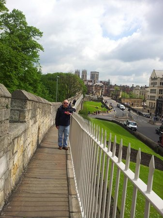 York City Walls: on the york wall