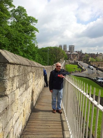 York City Walls: photo is from york wall