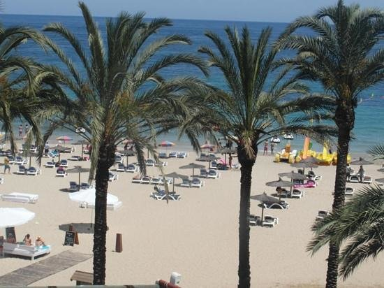 Hard Rock Hotel Ibiza : view from room