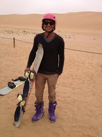 Alter Action Sandboarding: Pretty cool outfit eh!