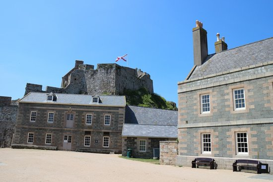 Elizabeth Castle: View from the Parade Ground