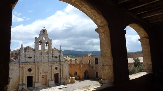 Sacred Monastery of Arkadi: Moni Arkadiou the Church