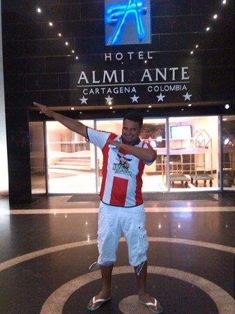 Hotel Almirante Cartagena Colombia : exelente experiencia