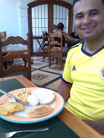 Hotel Almirante Cartagena Colombia : deliciosos