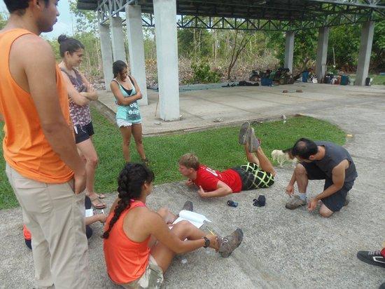 Skydive Costa Rica: Preparación previa al salto