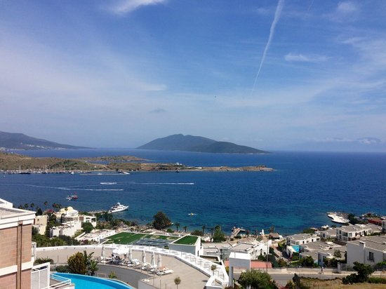 Doria Hotel Bodrum: View from the Hotel