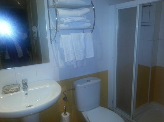 Apartamentos Paris Centro : El baño que no era de lo peor