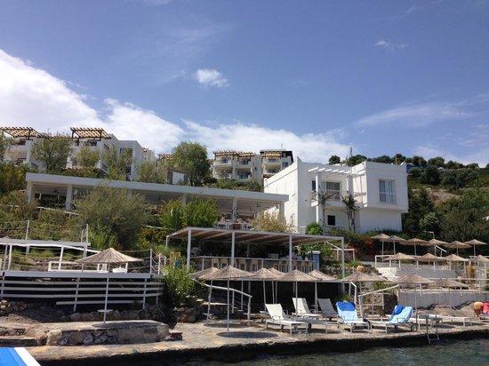 Doria Hotel Bodrum: View of the Beach Club