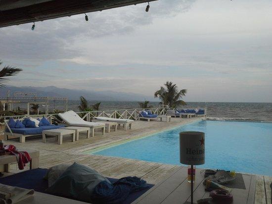 Bora Bora beach club : vista