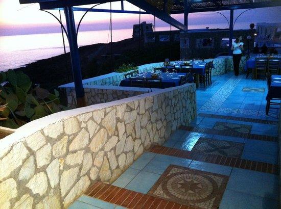 Hotel Ustica Punta Spalmatore: Angolo del ristorante