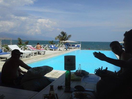 Bora Bora beach club : vista3