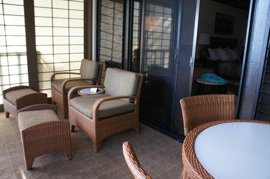 Napili Kai Beach Resort: Balcony