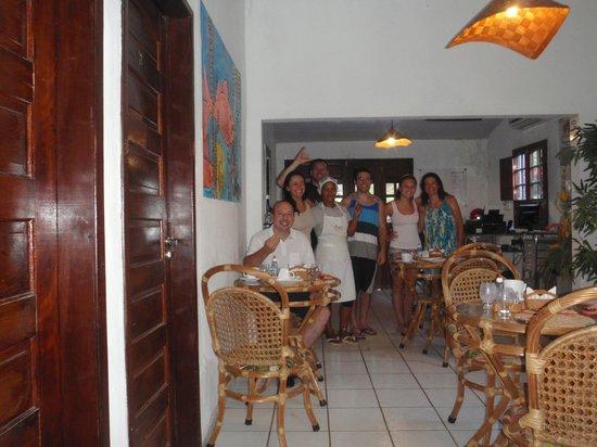 Pousada Del Mares: Café da manhã super especial!