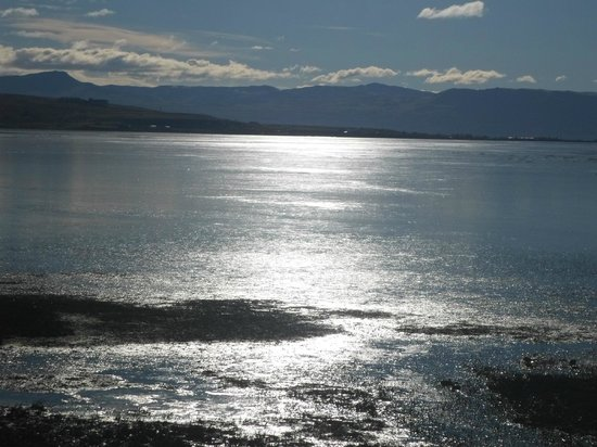 Hotel Sierra Nevada: lago congelado