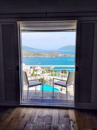 Doria Hotel Bodrum: Sea View