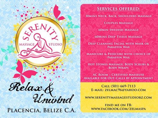 Serenity Massage Studio : Relax & Unwind