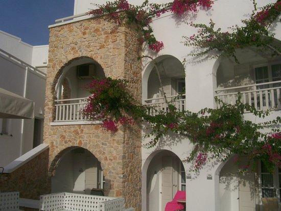 Aegean Plaza Hotel: vue de la chambre 230