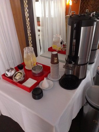 Sanctuary South Beach: coffee served until 4pm