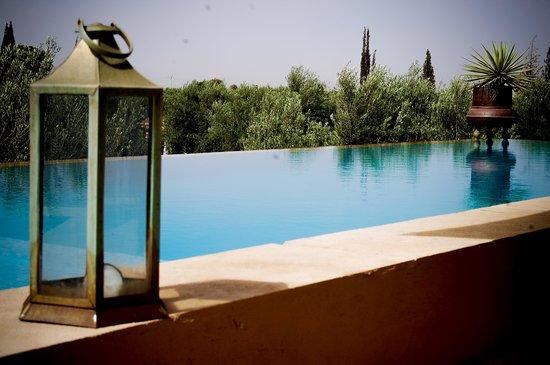 Le Clos Des Oliviers : Piscinne terrasse