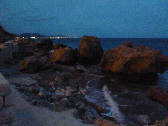 Sheraton Rhodes Resort : IXIA VIEW TOWARD MARMARIS