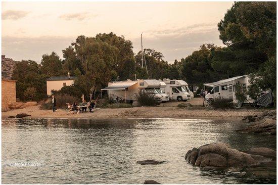 Baia Saraceno: campeggio
