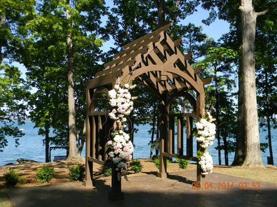 Wooden structures that would be covered by Lake Lanier's pool were removed. Concrete and brick structures were left in many cases. On a more personal level, graves were relocated, frequently from small, family graveyards that were common in these northeast Georgia hills.