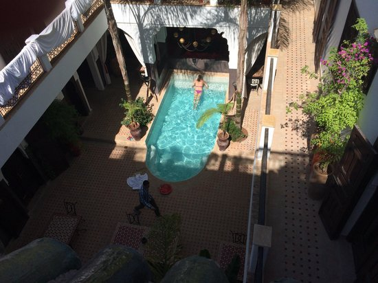 Riad Pachavana: View from the roof terrace