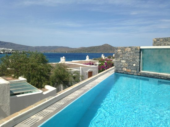 Elounda Peninsula All Suite Hotel: View from our room