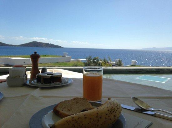 Elounda Peninsula All Suite Hotel: View from Calypso restuarant