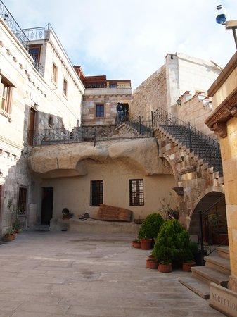 Vineyard Cave Hotel: vineyard