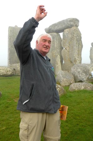 Salisbury & Stonehenge Guided Tours: Pat Shelley is an animated, likeable and knowledgeable guide.