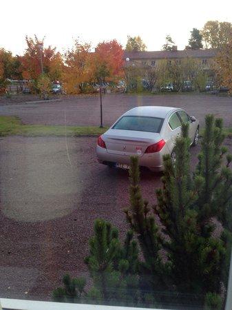 Alsens Hotell AB: Вид из окна на первом этаже