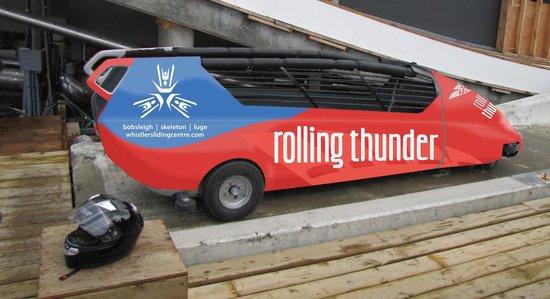 Whistler Sliding Centre: Rolling Thunder - Summer Bobsleigh Experience!