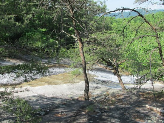 Stone Mountain State Park : Waterfall
