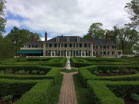 Hildene, The Lincoln Family Home : Hildene from the back gardens
