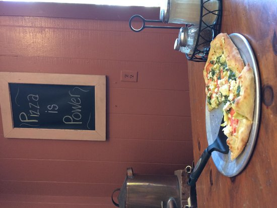 Sam's Wood Fired Pizza Co.: The best white pizza