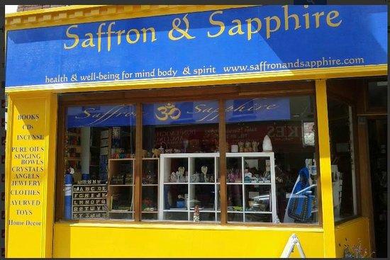 Saffron & Sapphire