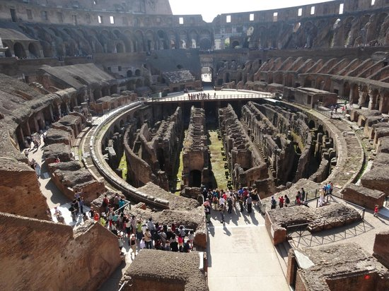 Real Rome Tours: The colossium - starting point of our tour