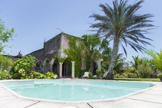 Hacienda Tepich : Piscina