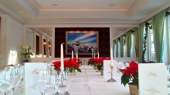 Romantik Hotel Schweizerhof Grindelwald : Restaurant