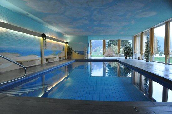 Romantik Hotel Schweizerhof: Indoor Pool