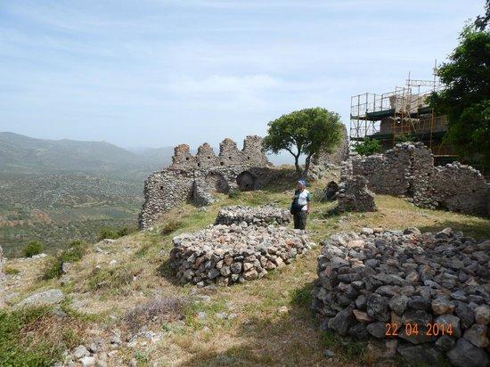 Castle of Geraki: Fortification