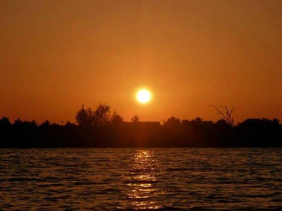 Cayman Kayaks: Perfect sunset