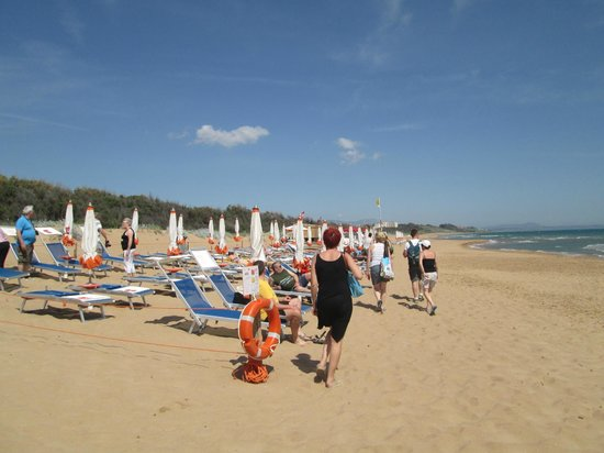 Costanza Beach Club : la plage privative