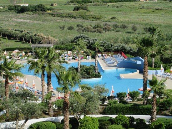 Costanza Beach Club : piscine vue de la chambre